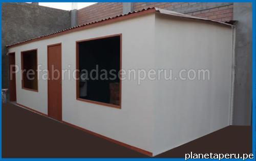 Casas prefabricadas de madera y drywall en ate tel fono - Habitaciones prefabricadas precios ...