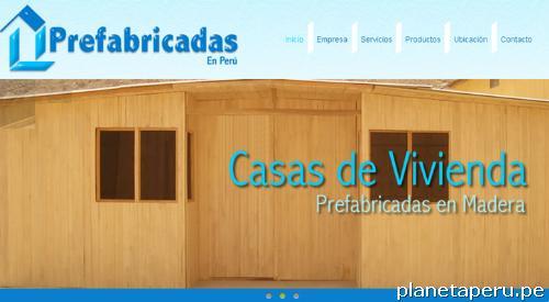 Casas prefabricadas de madera y drywall en ate tel fono - Habitaciones de madera prefabricadas ...