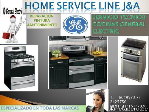 Servicio t cnico cocinas general electric 6649573 lima en santiago de surco tel fono - Servicio tecnico de general electric ...