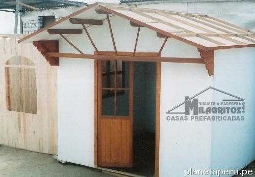 Casas prefabricadas de madera lima puente puente piedra for Casas prefabricadas piedra