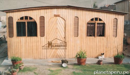 Fotos de casas prefabricadas de madera lima puente puente piedra - Casas prefabricadas madera y piedra ...
