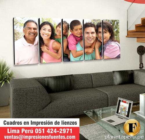 Impresi n en lienzo impresi n de foto cuadros - Cuadros fotos personalizados ...