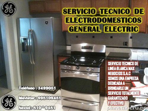 L nea blanca general electric servicio t cnico en san - Servicio tecnico de general electric ...