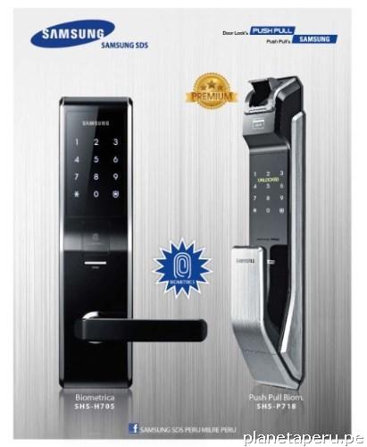 distribuidores de cerraduras samsung arequipa en