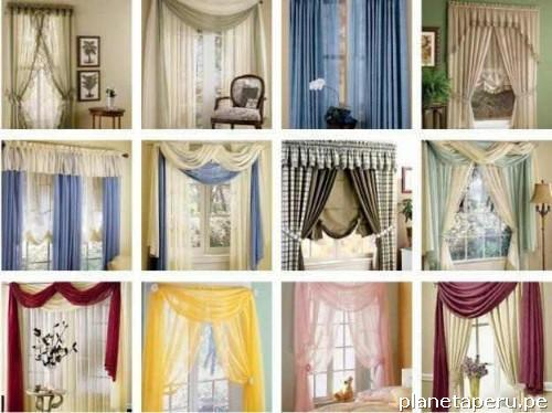 Venta y confecci n de cortinas modernas y cl sicas decoservice en lince tel fono - Cortinas de salon clasicas ...