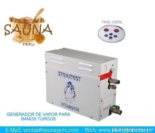 Sauna generador de vapor para ba os turcos 9kw en ica - Como son los banos turcos ...