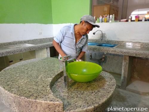 Fotos de m rmol y granito en lima per encimeras topes for Mesas de marmol y granito