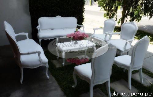 Fotos de alquiler salas luis xv salas de estilo salas for Salas vintage modernas