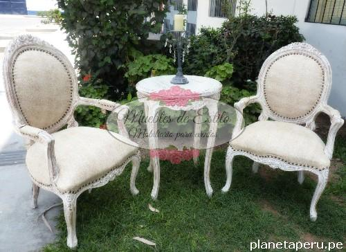 Fotos de alquiler salas luis xv salas de estilo salas for Muebles de estilo vintage