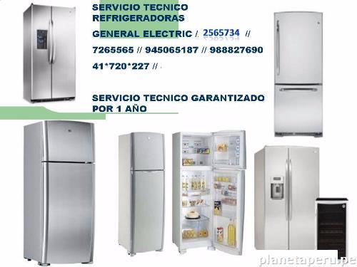 Servicio t cnico de refrigeradores ge 2565734 lima en - Servicio tecnico de general electric ...