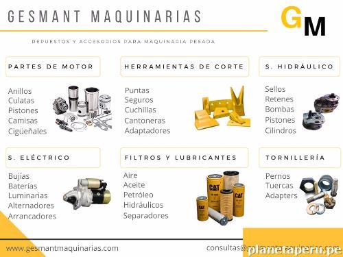 Venta de repuestos y accesorios para maquinaria pesada en for Repuestos y accesorios para toldos